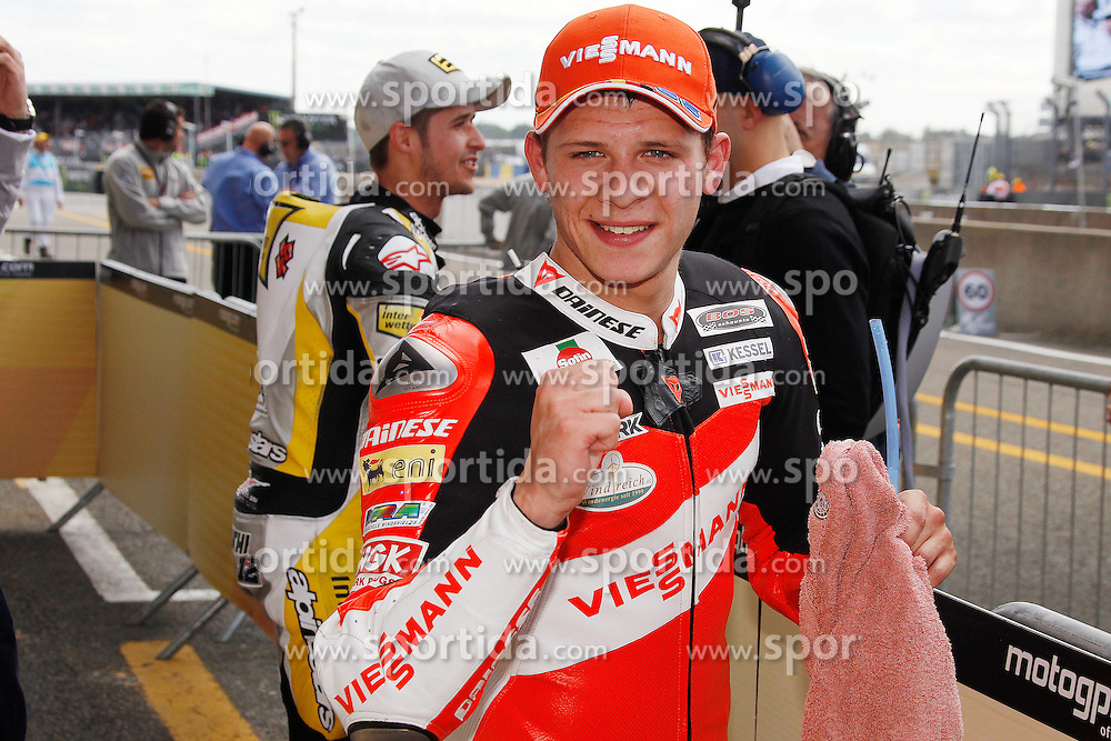 14.05.2011, Le Mans, FRA, MotoGP, Motomondiale Le Mans, im Bild  Stefan Bradl - Viessmann Kiefer racing team. EXPA Pictures © 2011, PhotoCredit: EXPA/ InsideFoto/ Semedia +++++ ATTENTION - FOR AUSTRIA/AUT, SLOVENIA/SLO, SERBIA/SRB an CROATIA/CRO CLIENT ONLY +++++