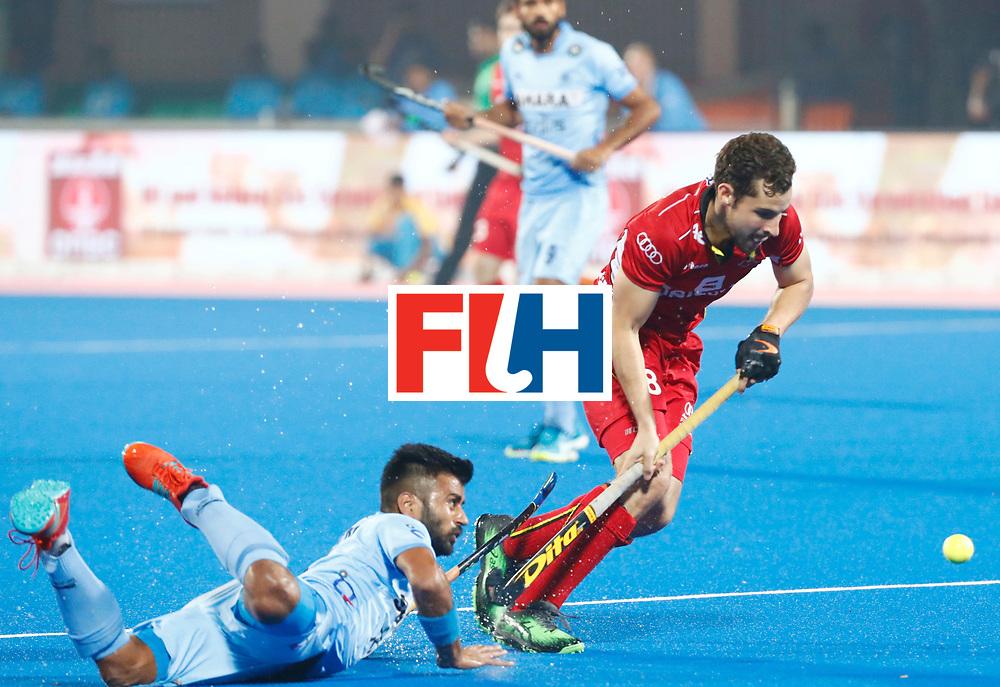 Odisha Men's Hockey World League Final Bhubaneswar 2017<br /> Match id:13<br /> Belgium v India<br /> Foto: Florent van Aubel (Bel)  <br /> COPYRIGHT WORLDSPORTPICS KOEN SUYK