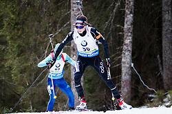 Aita Gasparin (SUI) competes during Women 10 km Pursuit at day 3 of IBU Biathlon World Cup 2015/16 Pokljuka, on December 19, 2015 in Rudno polje, Pokljuka, Slovenia. Photo by Ziga Zupan / Sportida