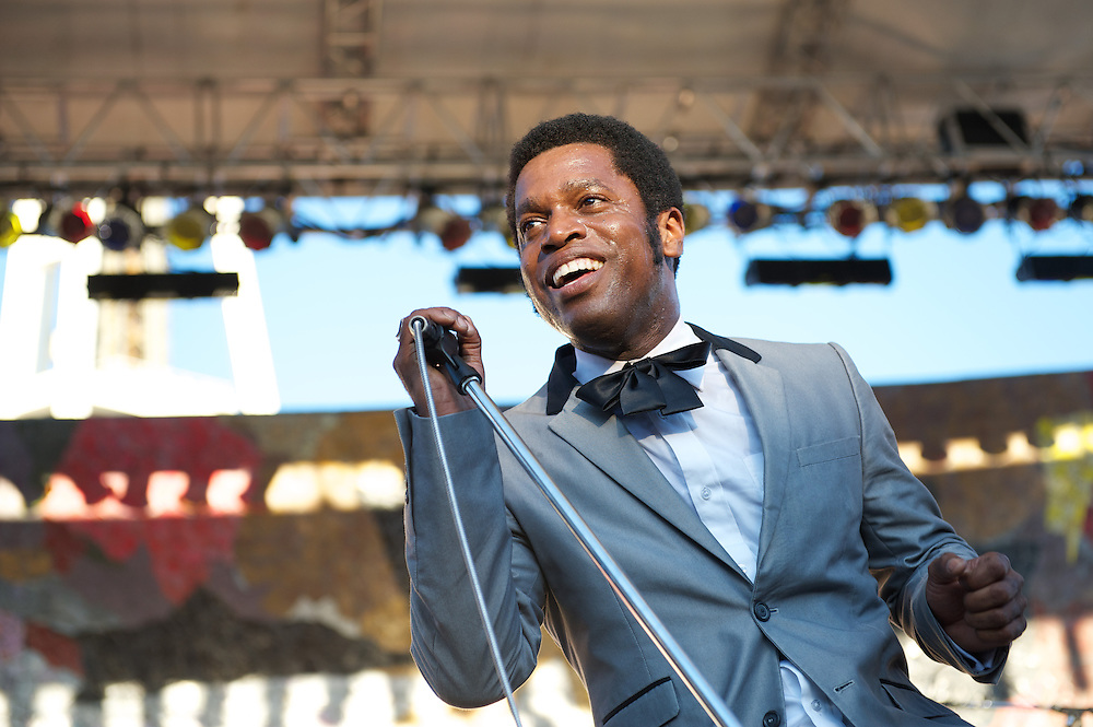 Vintage Trouble perform at Bumbershoot 2013 in Seattle. Bumbershoot is an annual three day music festival. Photo by John Lill