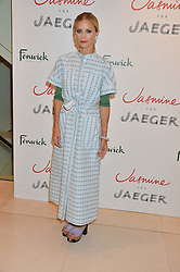 LAURA BAILEY at the launch of the 'Jasmine for Jaeger' fashion collection by Jasmine Guinness for fashion label Jaeger held at Fenwick's, Bond Street, London on 9th September 2015.
