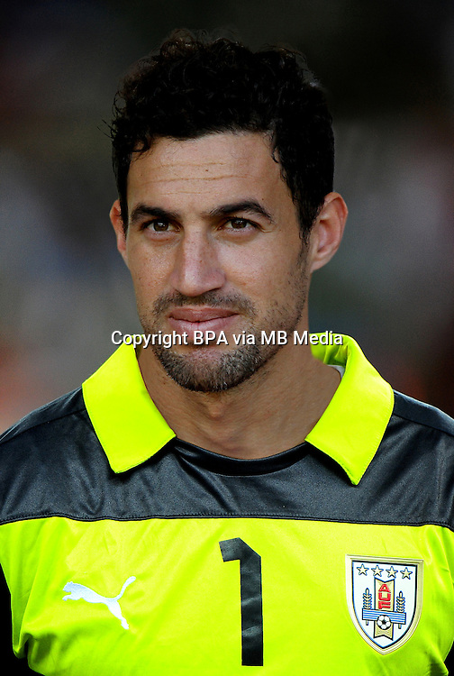 Football Fifa Brazil 2014 World Cup / <br /> Uruguay National Team - <br /> MARTIN SILVA of Uruguay