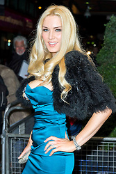 © Licensed to London News Pictures. 20/11/2013, UK. Emma Noble, The Amy Winehouse Foundation Ball, Dorchester Hotel, London UK, 20 November 2013. Photo credit : Raimondas Kazenas/Piqtured/LNP