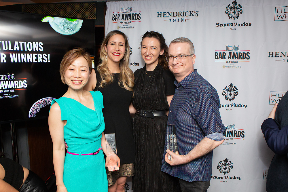 New York, NY - May 21, 2018:  The Time Out New York Bar Awards at Analogue in Greenwich Village.<br /> <br /> CREDIT: Clay Williams.<br /> <br /> © Clay Williams / http://claywilliamsphoto.com