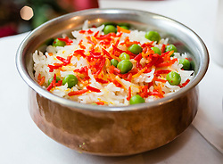 Rice with Vegetables, Indian Cuisine