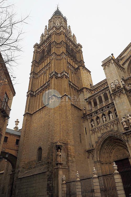 Torre de la catedral de Toledo. España ©Country Sessions Country Sessions / PILAR REVILLA