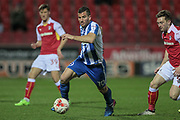 Brighton & Hove Albion centre forward Tomer Hemed (10) runs with the ball during the EFL Sky Bet Championship match between Rotherham United and Brighton and Hove Albion at the AESSEAL New York Stadium, Rotherham, England on 7 March 2017. Photo by Mark P Doherty.