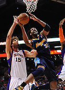 NBA: Denver Nuggets vs Phoenix Suns//20110310