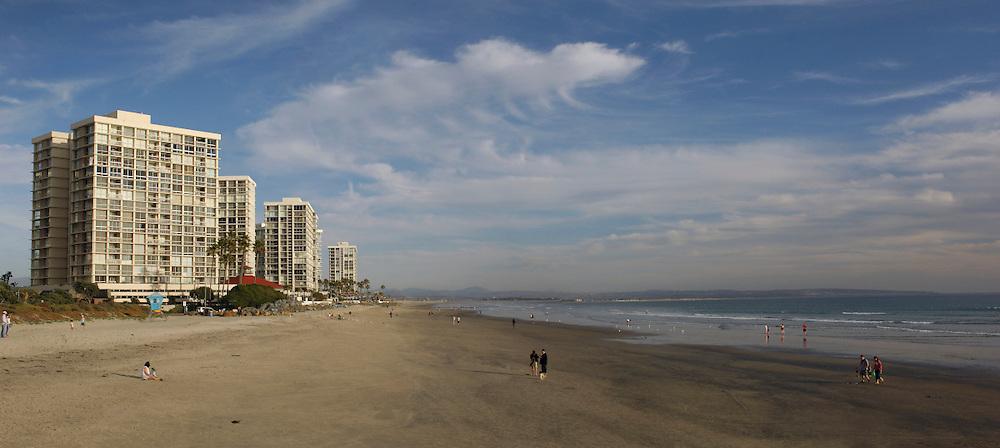 Panorama, Coronado Beach, San Diego, California, United States of America