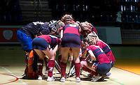 ROTTERDAM -  Finale dames ussen KZ D2 en Laren D2 tijdens het Landskampioenschap reserveteam zaal 2013. FOTO KOEN SUYK