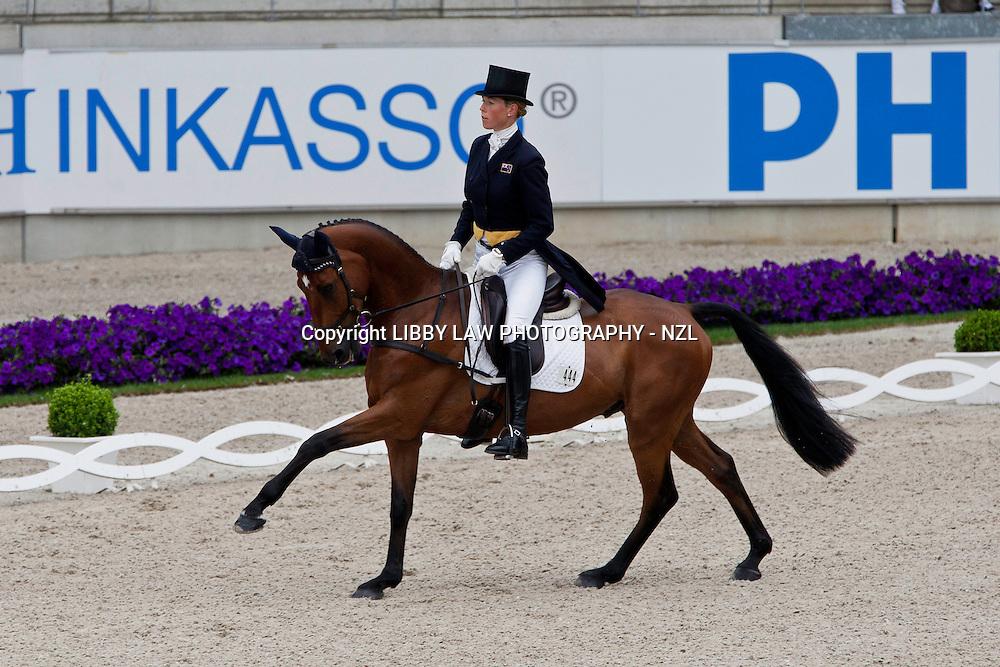 NZL-Lucy Jackson (KILCOLTRIM AMBASSADOR) 2012 GER-CHIO Aachen Weltfest des Pferdesports (Thursday) - DHL Preis CICO*** Eventing Dressage: INTERIM-36TH