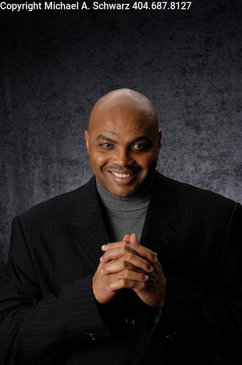 11/29/07 Atlanta, GA <br /> Charles Barkley photographed at TNT studios in Atlanta