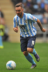 Adam Armstrong  Coventry City, Coventry City v Shreswsbury Town FC  Ricoh Arena, Football Sky Bet League One, Saturday 3rd October 2015
