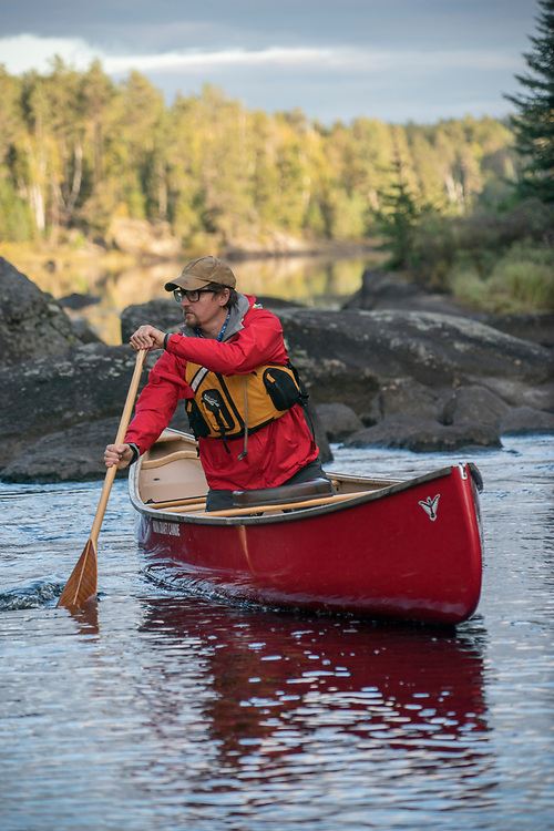 Early autumn canoe trip to the Boundary Waters Canoe Area Wilderness in Minnesota.