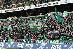 10.12.2011, Weserstadion, Bremen, GER, 1.FBL, Werder Bremen vs VfL Wolfsburg, im Bild Die Ostkurve des Weserstadions // during the match Werder Bremen vs VfL Wolfsburg on 2011/12/10, Weserstadion, Bremen, Germany. EXPA Pictures © 2011, PhotoCredit: EXPA/ nph/ Frisch..***** ATTENTION - OUT OF GER, CRO *****