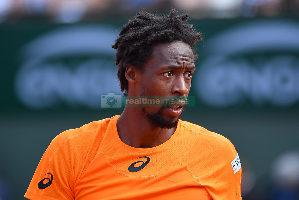 June 5, 2017 - Paris, FRANCE - Gael Monfils (Fra) def Richard Gasquet  (Credit Image: © Panoramic via ZUMA Press)
