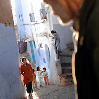 Chefchaouen, Morocco 23 October 2006<br />