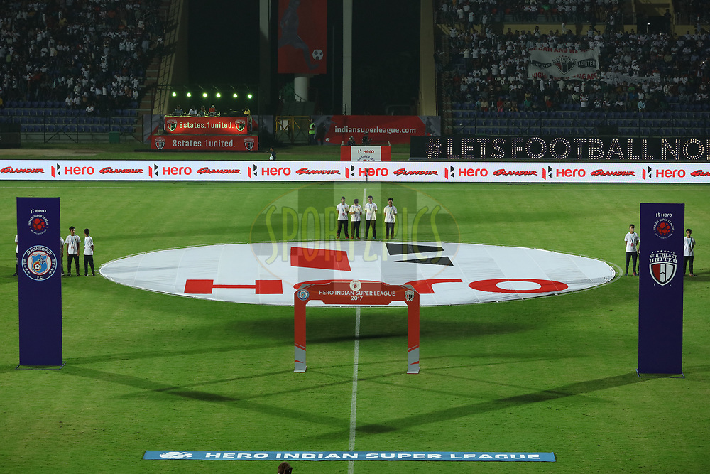 GV of FOP during match 2 of the Hero Indian Super League between NorthEast United FC and Jamshedpur FC held at the Indira Gandhi Athletic Stadium, Guwahati India on the 18th November 2017<br /> <br /> Photo by: Saikat Das  / ISL / SPORTZPICS