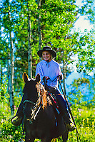 Parade Rest Ranch near West Yellowstone, Montana USA