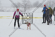 Sunday Events Finish Line - 24 K Snow Bike, 12 K Skijour, 10k Snowshoe