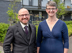 Pictured: Patrick Harvie and Maggie Chapman<br />