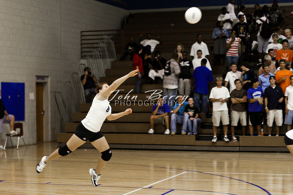 MCHS Varsity Volleyball .vs Monticello .8/26/2008