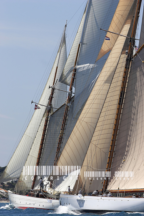Orion 1910 et Lulworth 1920.Voiles d'Antibes 2007.
