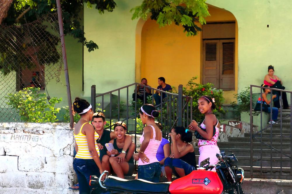 School in Manzanillo, Granma, Cuba.