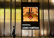 Louis Vuitton sign in Singapore