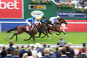 OWNEY MADDEN (16) ridden by Rob Hornby and trained by Martyn Meade winning The Sky Bet Nursery Stakes over 6f (£70,000)  during the Ebor Festival at York Racecourse, York, United Kingdom on 21 August 2019.