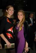 MARGOT STILLEY AND ANNINA BRUGES VON PFUEL. The private view of exhibition 'The House of Viktor & Rolf', at The Barbican Gallery.  London.  June 17 2008. *** Local Caption *** -DO NOT ARCHIVE-© Copyright Photograph by Dafydd Jones. 248 Clapham Rd. London SW9 0PZ. Tel 0207 820 0771. www.dafjones.com.