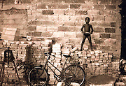 2000 August- Havana, Cuba- ' Supa Boy on Bricks '  in Havana, Cuba