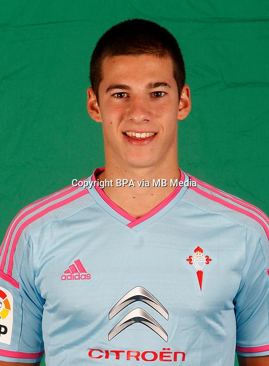 Spain - La Liga BBVA  2014-2015 / <br /> ( R.C. Celta de Vigo ) - <br /> Santiago Mina Lorenzo &quot; Santi Mina &quot;