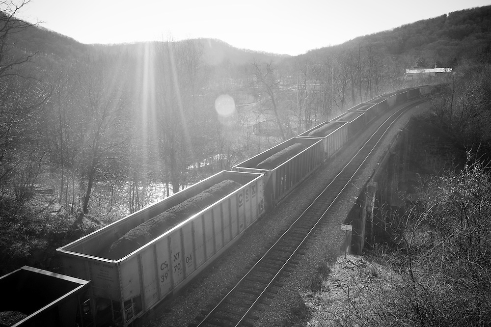 Coal train, Western Maryland
