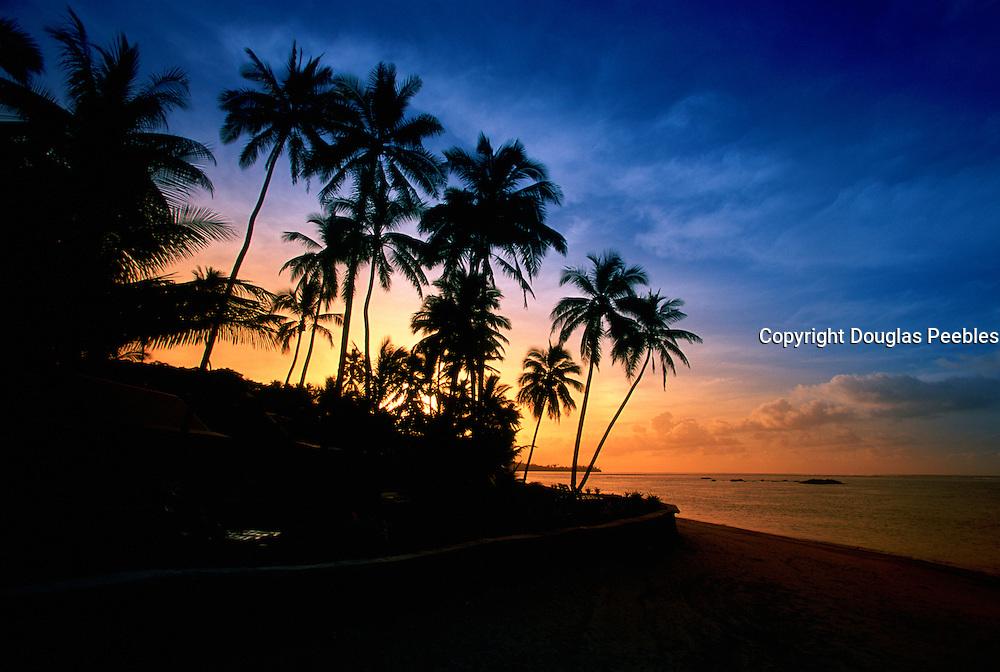 Sunset, Hideaway Resort, Coral Coast, Viti Levu, Fiji<br />
