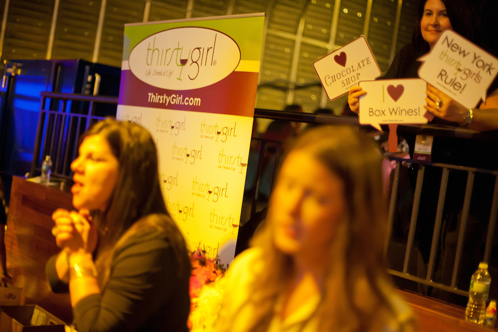 Thirsty Girl, one of the sponsors of the event.