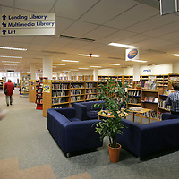 AK Bell Library, Perth.<br />'The Comfort Zone' a relaxed and non-threatening area for adults with a lack of confidence in reading and using learning facilities.<br />Picture by Graeme Hart.<br />Copyright Perthshire Picture Agency<br />Tel: 01738 623350  Mobile: 07990 594431