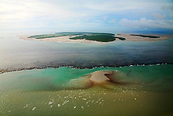 Montgomery Reef, at 292km2, is Australia's largest inshore reef.