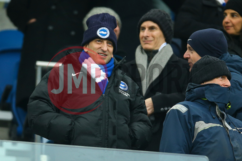 Brighton & Hove Albion chairman Tony Bloom - Mandatory by-line: Jason Brown/JMP - 11/02/2017 - FOOTBALL - Amex Stadium - Brighton, England - Brighton and Hove Albion v Burton Albion - Sky Bet Championship