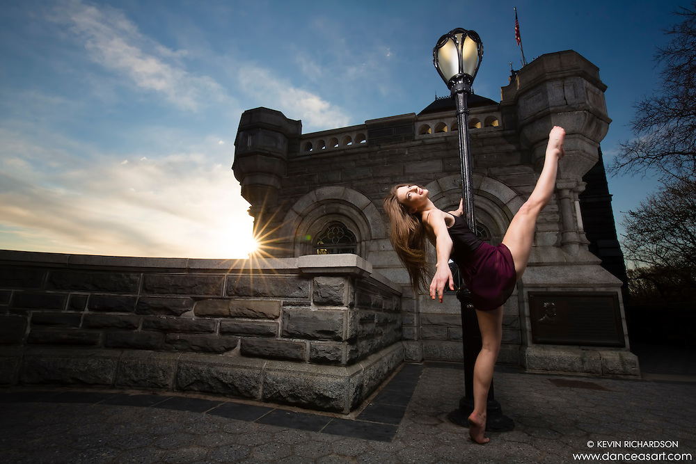Belvedere Caslte Central Park- Dance As Art The New York Photography Project with Megganne Smits