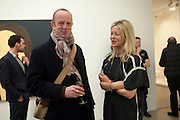 JOHNNIE SHAND KYDD; LADY HELEN TAYLOR, Alex Katz opening. Timothy Taylor gallery. London. 3 March 2010.