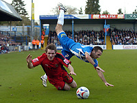 Photo: Olly Greenwood.<br />Colchester United v Coventry City. Coca Cola Championship. 10/03/2007. Colchester's Karl Duguid is fouled by Coventry's Jay Tabb