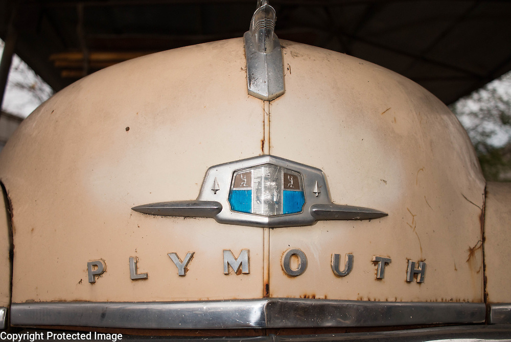 Plymouth sedan nose