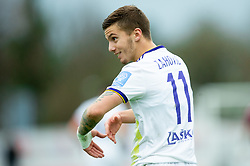 Luka Zahović of Maribor during Football match between NK Triglav and NK Maribor in 25th Round of Prva liga Telekom Slovenije 2018/19, on April 6, 2019, in Sports centre Kranj, Slovenia. Photo by Vid Ponikvar / Sportida