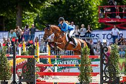 RÖFLING Juliane (GER), Coletta 35<br /> Münster - Turnier der Sieger 2019<br /> Preis der PROVINZIAL VERSICHERUNG<br /> Junioren-Förderpreis 2019<br /> 03. August 2019<br /> © www.sportfotos-lafrentz.de/Stefan Lafrentz