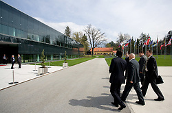 Outside view of Kongresni center Brdo at General Assembly of Slovenian Football Federation NZS due to it's 90-years Anniversary , on April 24, 2010, in Kongresni center Brdo, Brdo pri Kranju, Slovenia. (Photo by Vid Ponikvar / Sportida)