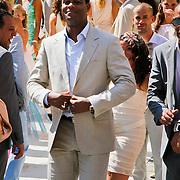 ITA/Siena/20100718 - Huwelijk wesley Sneijder en Yolanthe Cabau van Kasbergen in Siena Italie, Patrick Kluivert