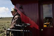 Conductor Ray Martinez, Cumbres & Toltec Scenic Railroad.