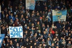 I TIFOSI DELLA SPAL<br /> SPAL - MILAN<br /> CAMPIONATO ITALIANO CALCIO SERIE A 2017-2018<br /> FERRARA 10-02-2018<br /> FOTO FILIPPO RUBIN