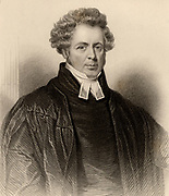 Andrew Thomson (1779-1831) Scottish Presbyterian divine and popular Edinburgh minister and preacher.  Engraving from 'A Biographical Dictionary of Eminent Scotsmen' by the Rev. Thomas Thomson (Glasgow, Edinburgh and London, 1870).
